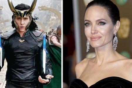 Анджелина Джоли и Том Хиддлстон вместе?