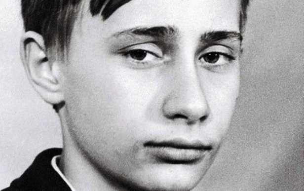 владимир путин в юности фото