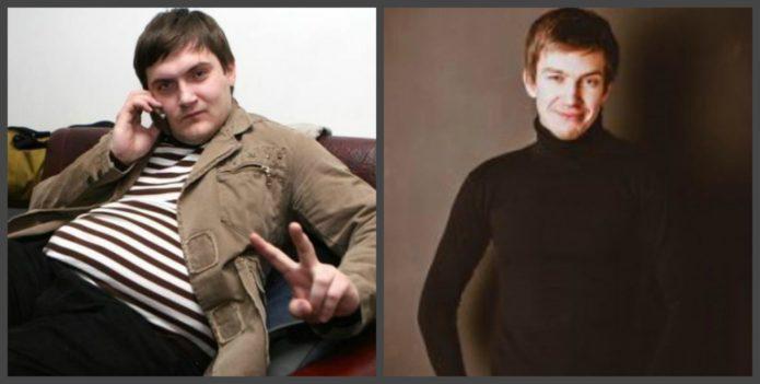 андрей аверин до и после похудения фото