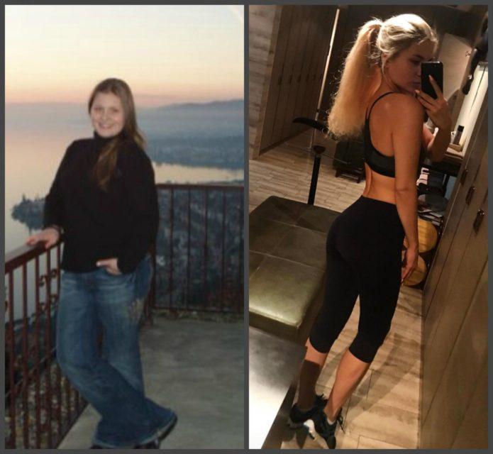 анна шульгина до и после похудения фото