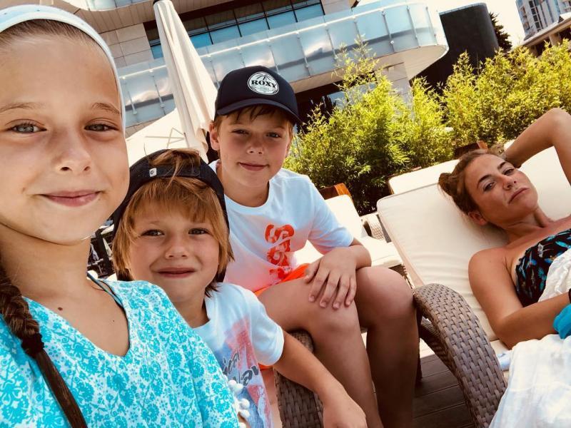 юлия барановская и ее дети