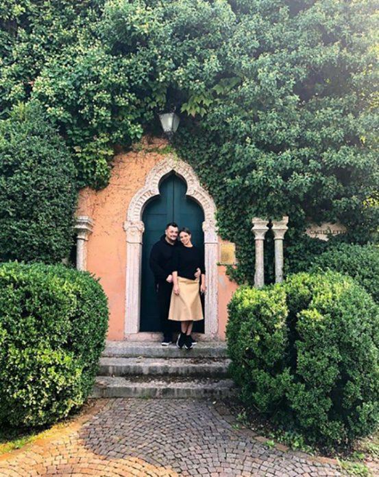 Сергей Жуков с женой