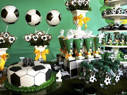 Футбольная тематика дня рождения