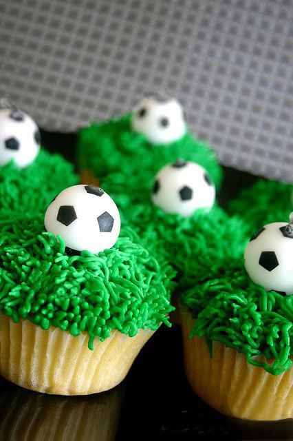 Футбольные кексики