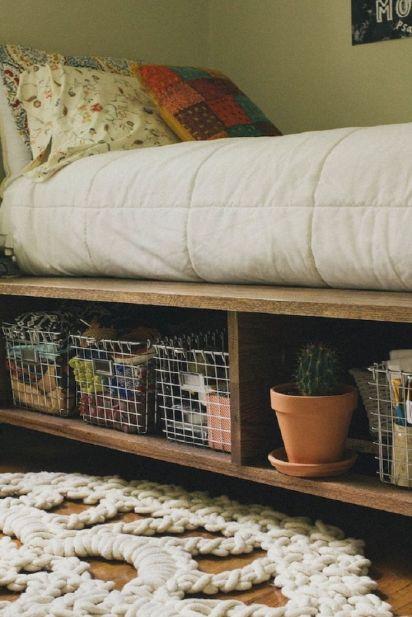 Корзины под кроватью
