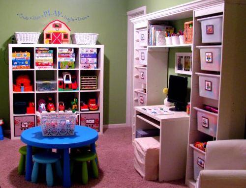 Система хранения в детской