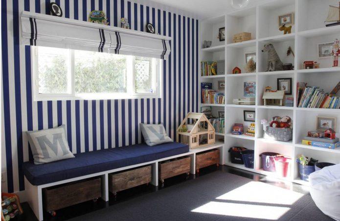 Грамотная организация пространства детской комнаты