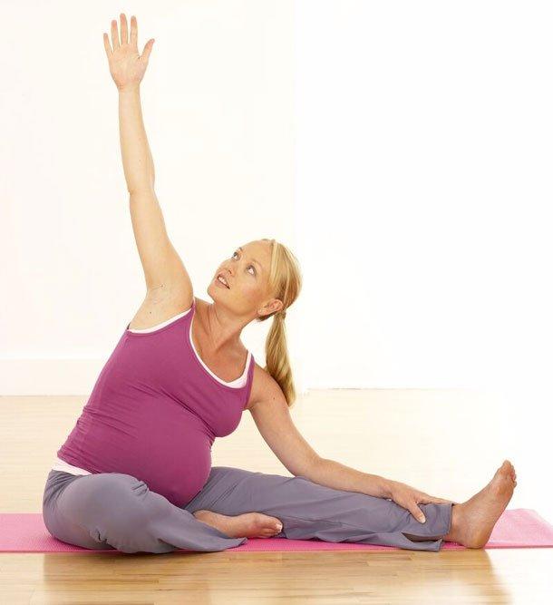Простые упражнения для беременных на каждый день