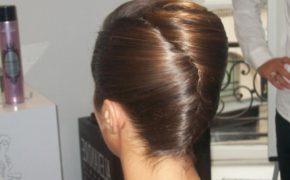 Причёска улитка