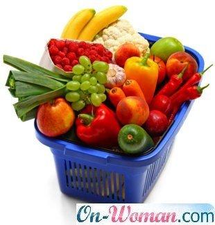 овощи, фркуты, орехи