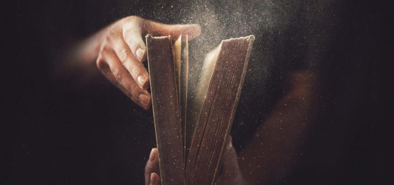 Пыль из книги