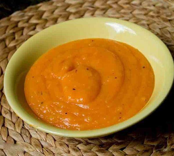 Тыквенное пюре с морковью