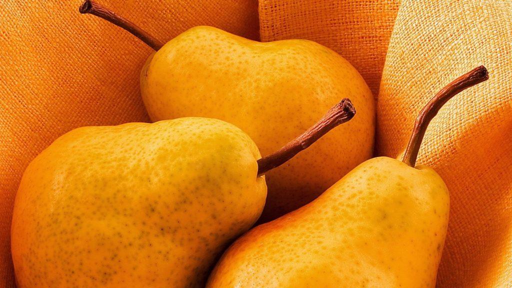 Жёлтые груши