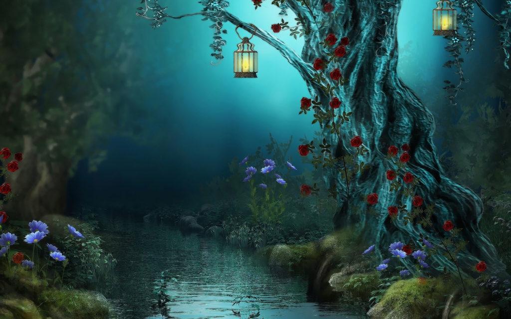 Сказочная река