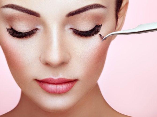 свадебный макияж наращивание ресниц