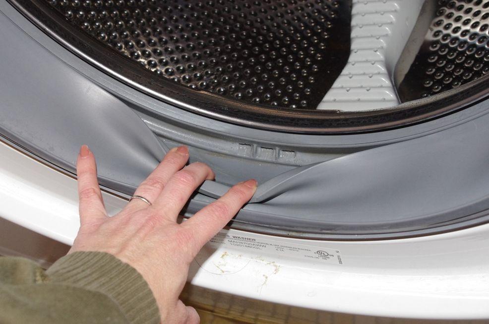 Резиновый уплотнитель барабана стиральной машинки