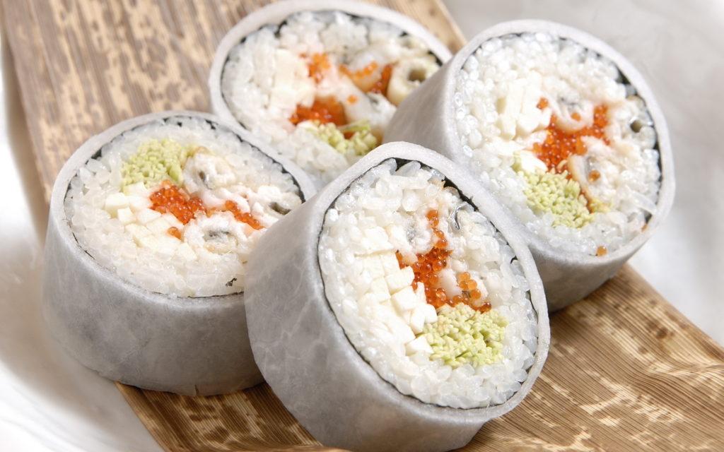 Роллы с рисом