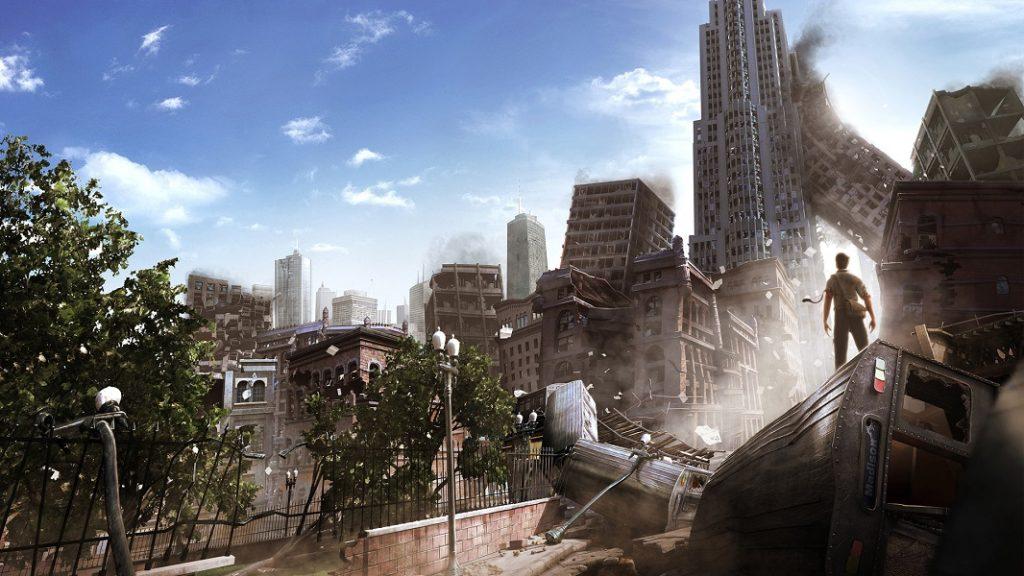 Руины после стихийноо бедствия