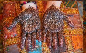Мехенди рука Фатимы