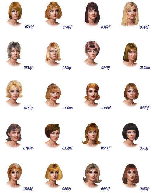 Разные причёски фото прически а