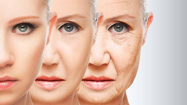 Степени увядания кожи