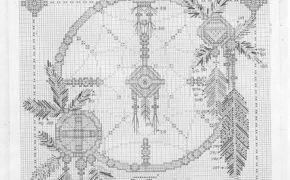 Схема вышивки Ловца снов