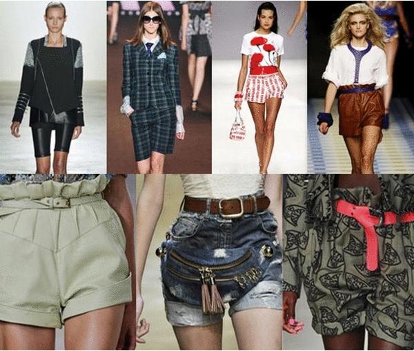 Женские мини шорты