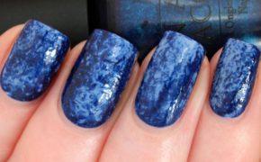 Сине-голубой мрамор