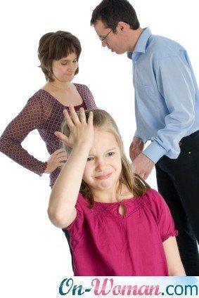 разгоовор о разводе с ребенком