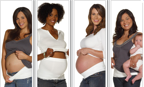 одежда не показавывающая беременный живот