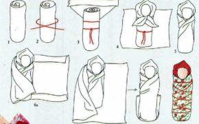 Схема изготовления куклы Пеленашки