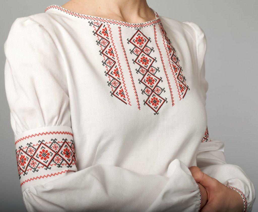 Славянская вышивка на одежде