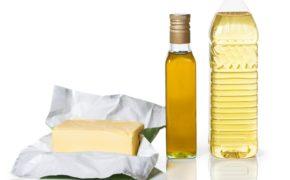 Сливочное и растительное масла