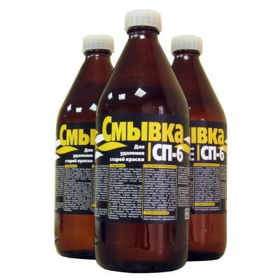 Смывка в бутылках