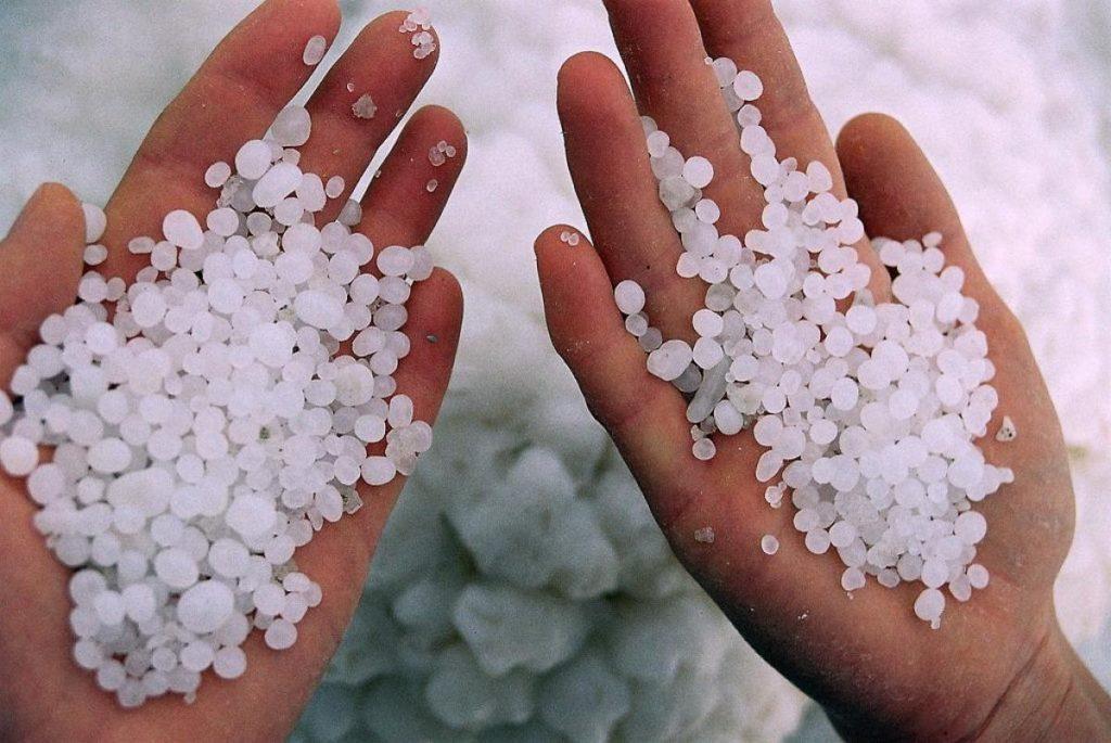 Соль в ладонях