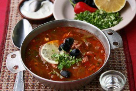 солянка сборная грибная классическая рецепт с фото пошаговый