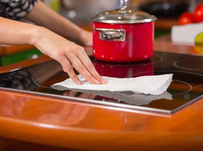 способы чистки индукционной плиты