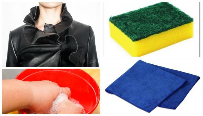 Средства для ручной чистки кожаной куртки