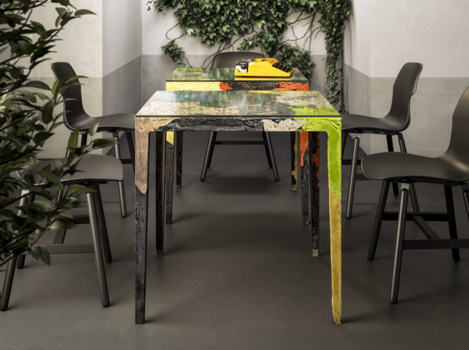 купить дизайнерский стол для обеда