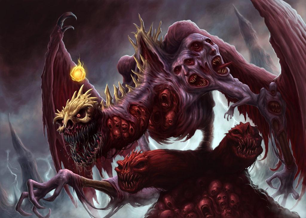 Страшное чудовище