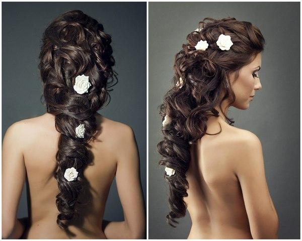 Свадебная причёска в греческом стиле