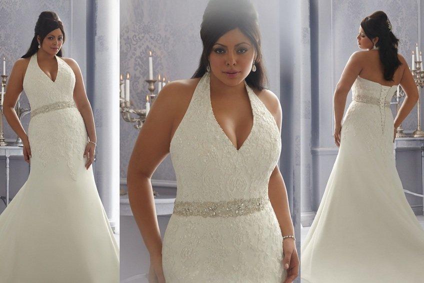 Свадебные платья для полных дам