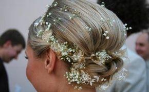 свадебные прически на 2012