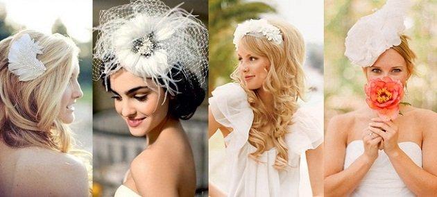 Какие украшения для волос невесты модны в 2013 году