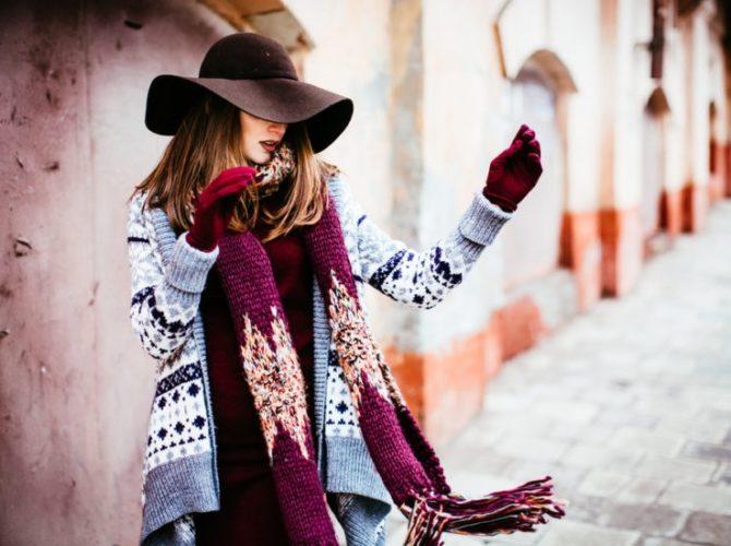купить шарф женский