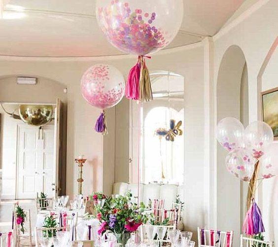 заказ воздушных шаров с гелием