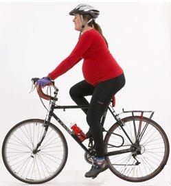катание на велосипеде при беременности