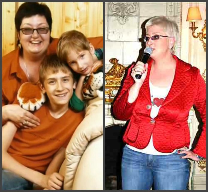 татьяна устинова до и после похудения