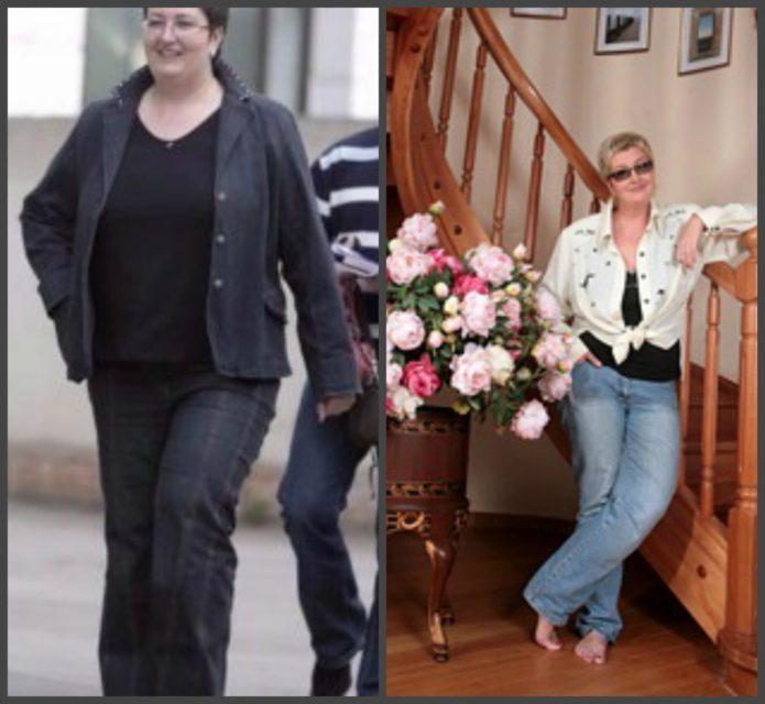 татьяна устинова до и после похудения фото