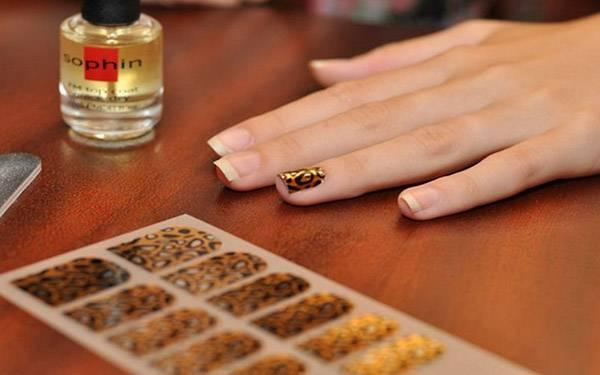 Термонаклейки для ногтей